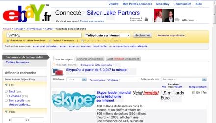 le rachat de Skype par Silver Lake Partners
