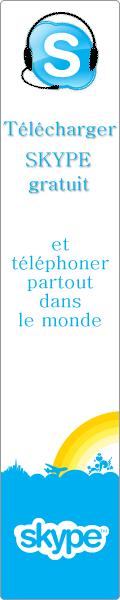 Telecharger Skype - France , le portail du t�l�phone gratuit . Skype est un logiciel gratuit pour t�l�phoner gratuitement ou �conomiquement partout dans le monde.