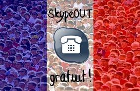 L\'anniversaire de Skype: toutes les appels vers des téléphones fixes en France sont GRATUITS !