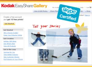 Skype & Kodak : un accord de partenariat !